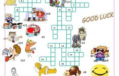 Verbs Of Action//crossword Puzzle Worksheet   Free Esl Printable   Printable Word Search Puzzles Verbs