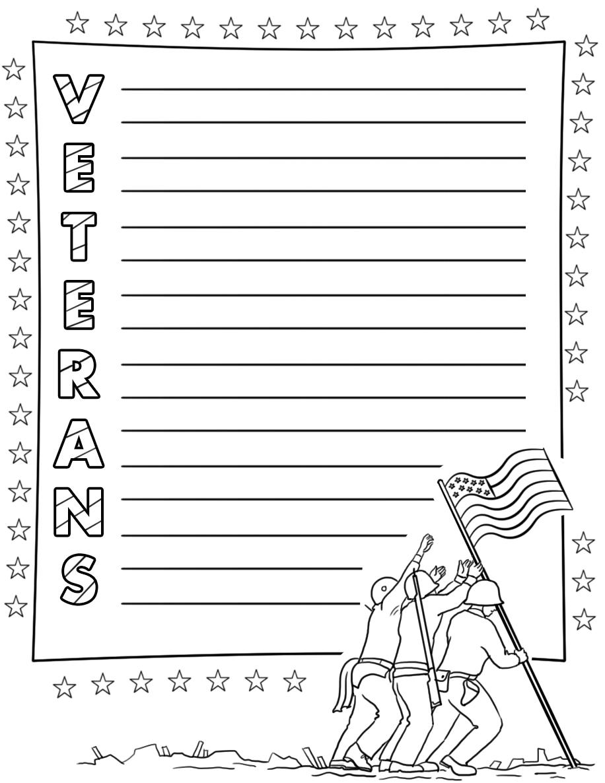 Veterans Acrostic Poem Template | Free Printable Papercraft Templates - Printable Acrostic Puzzle