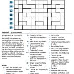 Wall Street Journal Crossword Contest   Journal Foto And Wallpaper   Printable Crossword Puzzles Wsj