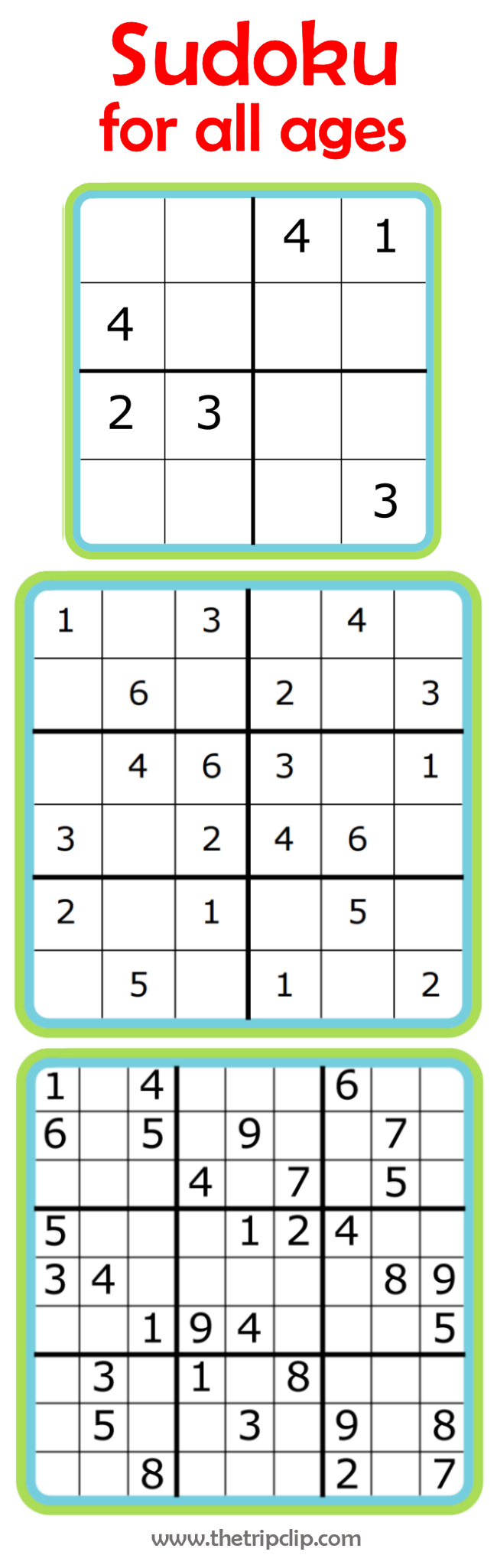 Week 7: Learning Math With Sudoku | 52 Weeks Of Learning With The - Printable Kenken Puzzles 9X9