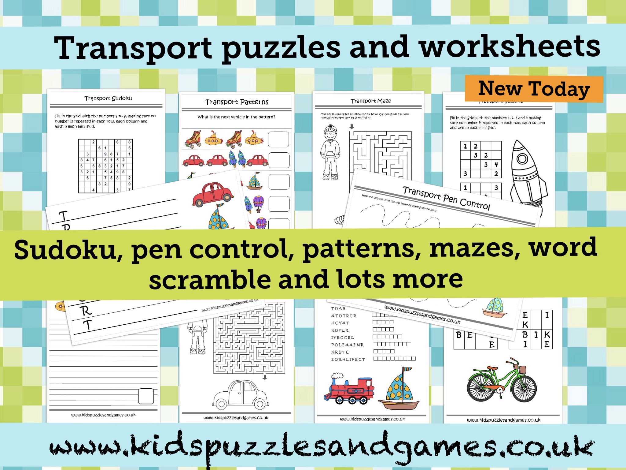 Welcome To Kids Puzzles And Games - Printable Puzzles For 5 Year Olds