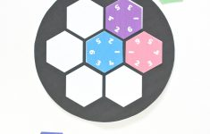 Wild Olive: Printable // Hexagon Number Puzzle   Printable Rainbow Number Puzzle