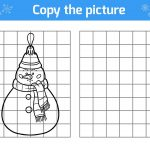 Winter Puzzle & Coloring Pages: Printable Winter Themed Activity   Printable Puzzles Winter