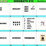 Words Up? Dingbat Puzzles   Printable Dingbat Puzzles