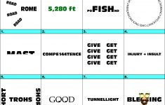 Words Up? Dingbat Puzzles   Printable Ditloid Puzzles