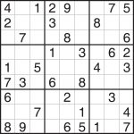 Worksheet : Easy Sudoku Puzzles Printable Flvipymy Screenshoot On   Printable Puzzles Sudoku