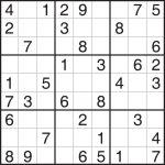 Worksheet : Easy Sudoku Puzzles Printable Flvipymy Screenshoot On   Printable Sudoku Puzzle Easy