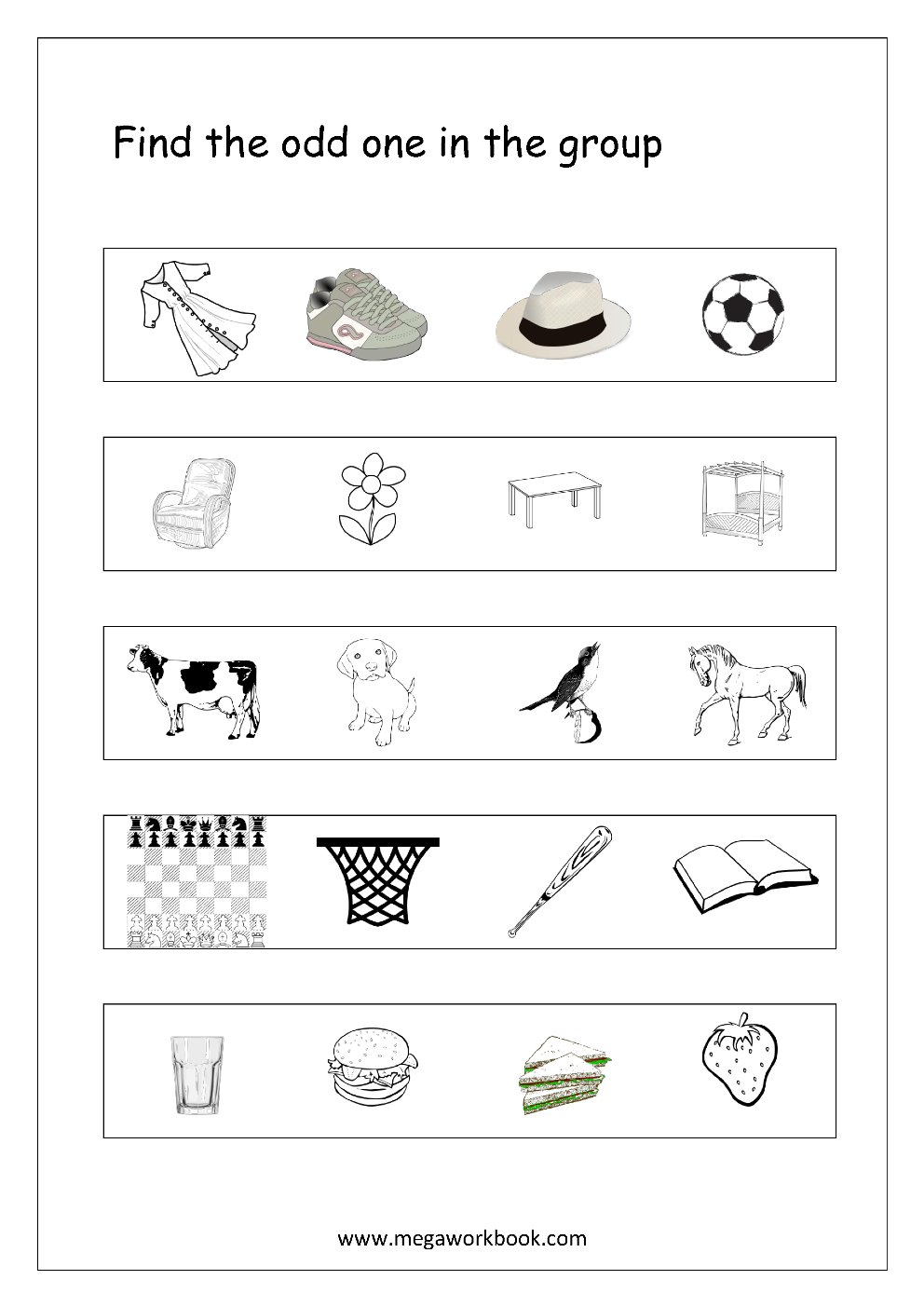 Worksheet : Kindergarten Logic Worksheets For Kids The Best Image - Printable Puzzle For Kindergarten