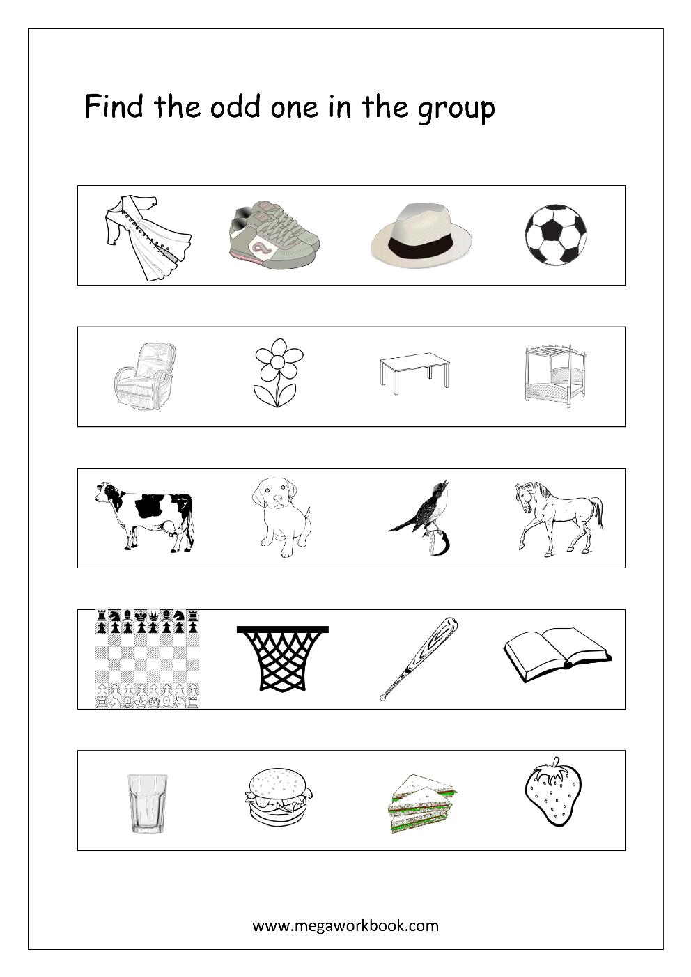 Worksheet : Kindergarten Logic Worksheets For Kids The Best Image - Printable Puzzle For Kindergarten
