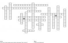 World War 2 Crossword Puzzle Crossword   Wordmint   Wwii Crossword Puzzle Printable