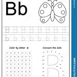 Writing Letter B. Worksheet. Writing A Z, Alphabet, Exercises Game   Letter B Puzzle Printable