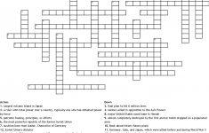 Wwii Crossword Puzzle Crossword   Wordmint   Wwii Crossword Puzzle Printable