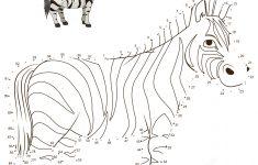 Zebra Dot To Dot | Free Printable Coloring Pages   Printable Zebra Puzzle